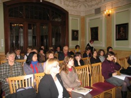 """Seminaro """"Kultūros paveldo skaitmeninimas"""" dalyviai"""