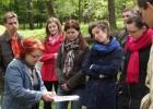 LDM filialo LM ISC LIMIS darbuotojai Europos parke. T. Kapočiaus nuotr.