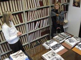Alinari archyvas, kuriame saugomos vertingos istorinės fotografijos. Andrea de Polo nuotr.