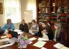 Seminaro dalyvės aptaria sistemai LIMIS rengiamą Archeologijos tezaurą
