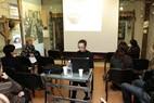 2010Pranešimą skaito Justina Augustytė, LM ISC LIMIS redaktorė. Tomo Stasevičiaus nuotr.1020_seminarasPanevezyje_02_m