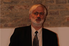 """Pranešimą skaito dr. Albertas Šermokas (UAB """"Sintagma""""). I. Endrijaitienės nuotr."""