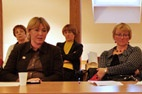 Kairėje Rūta Pileckaitė, Kultūros ministerijos Informacinės visuomenės plėtros skyriaus vyriausioji specialistė. A. Valužio nuotr.
