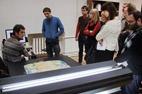 Vienintelis Lietuvoje specializuotas dailės kūrinių skeneris CRUSE, kuriuo išgaunami geriausios kokybės tapybos, tekstilės ir kt. skaitmeniniai vaizdai. A. Valužio nuotr.