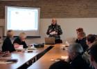 Pranešimą skaito Danutė Mukienė, LDM filialo LM ISC LIMIS vedėja. I. Endrijaitienės nuotr.