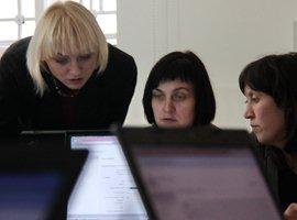 2012 m. sausio 11 d. LIMIS laikinosios programinės įrangos mokymai. A. Valužio nuotr.