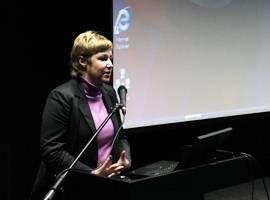 Rūta Pileckaitė, Kultūros ministerijos Informacinės visuomenės plėtros skyriaus vyriausioji specialistė. A. Valužio nuotr.