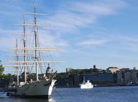 Stokholmo miesto panorama. A. Pulokaitės nuotr.