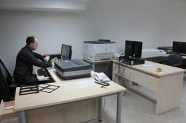 Kauno regiono muziejų skaitmeninimo centro mokymo klasė Nacionaliniame M. K. Čiurlionio dailės muziejuje. G. Asin Marco nuotr.