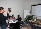 Dr. D. Saulevičius pristato planuojamą kurti LIMIS sistemą. CITem centras, Brno, Čekija.