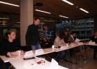 Seminaro akimirka. Pirmas iš kairės dr. Donatas Saulevčius