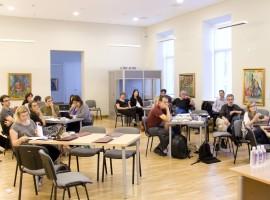 The fourth EuropeanaPhotography plenary meeting in Vilnius. Photo by T. Kapočius.