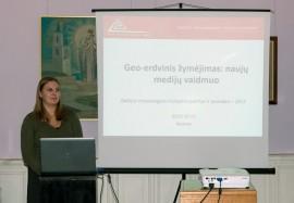 Pranešėja L. Salickienė. G. Jankauskienės nuotr.
