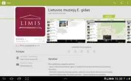 """Mobilioji aplikacija """"Lietuvos muziejų elektroninis gidas"""""""