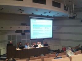 """Trečiojo projekto """"AthenaPlus"""" partnerių plenarinio posėdžio Bukarešte akimirka. D. Snarskio nuotr."""