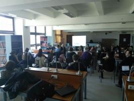 Projekto viešinimo sekcijos susitikimo akimirka. D. Snarskio nuotr.