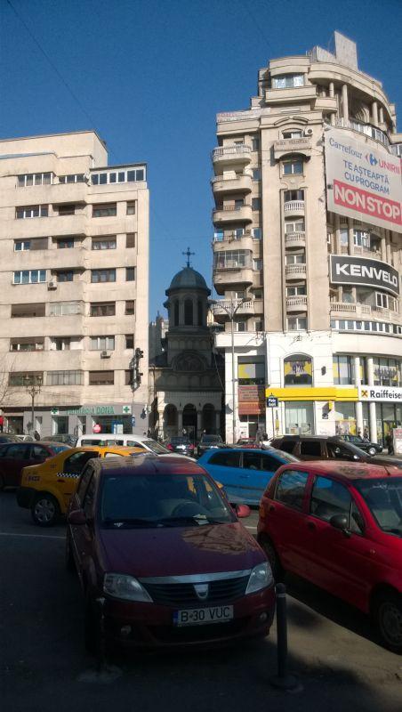 Staigmenų kupinas Bukareštas. D. Snarskio nuotr.