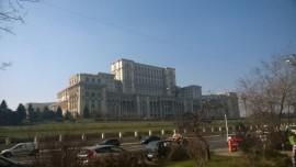 Rumunijos parlamento rūmai – didžiausias civilinės paskirties administracinis pastatas pasaulyje. D. Snarskio nuotr.