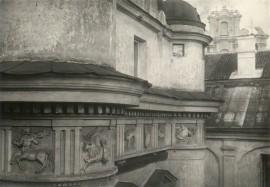 Vilniaus universiteto astronomijos observatorijos fragmentas. Nuotr.  Jano Bulhako