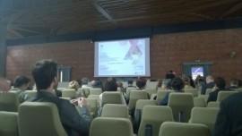 """Tarptautinės konferencijos """"Pakartotinis skaitmeninto kultūros paveldo panaudojimas edukacijai, turizmui ir laisvalaikiui"""" akimirka. D. Snarskio nuotr."""