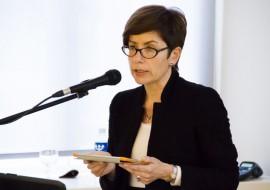 Lietuvos mokslų akademijos Vrublevskių bibliotekos direktoriaus pavaduotoja dr. Rima Cicėnienė. T. Kapočiaus nuotr.