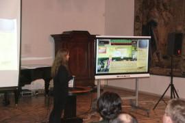 """Genocido aukų muziejaus sukurto žaidimo """"Sovietinis inkubatorius"""" pristatymas"""