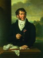 Mykolo Kleopo Oginskio portretas (1765–1833). Dailininkas Francois Xavier Fabre (1766–1837)
