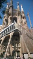 Barselonos Šv. Šeimynos bažnyčia (La Sagrada Familia). D. Snarskio nuotr.