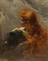 Franciszek Żmurko, Moters portretas, Lietuvos dailės muziejus