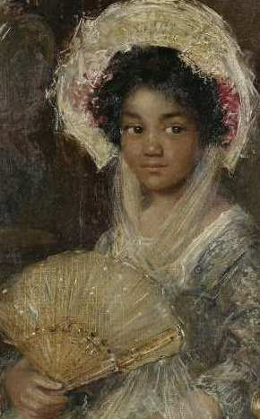 Young Woman with a Fan